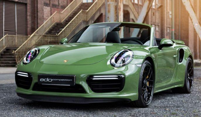 """Üstü Açık En Hızlı Porsche'de Gitmek İsteyenlere """"Edo 911 Turbo S"""""""