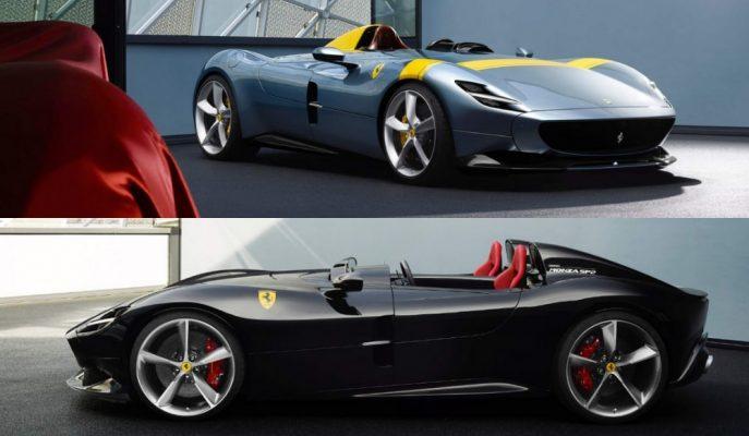 """Dünyanın En Tarz İkilisi Paris'te: """"Ferrari Monza SP1 ve SP2 Speedster"""""""