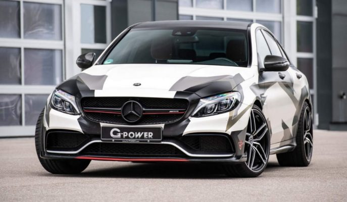 "G-Power'ın 800 Ps'lik Yeni Kamuflajlı Roketi: ""Mercedes-AMG C63 S"""