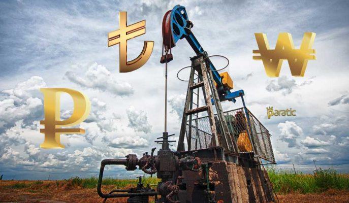 Gelişen Piyasa Paralarını Düşüren Petrol 4 Yılın Zirvesinde Duraksadı