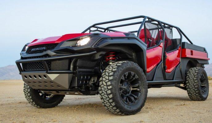 """Honda Ridgeline Pick-up Alt Yapısındaki Müthiş Aracı: """"Open Air Vehicle 4×4"""""""