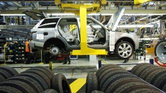 Jaguar-Land Rover İngiltere Solihull Tesisinde Araç Üretimini Durdurdu!