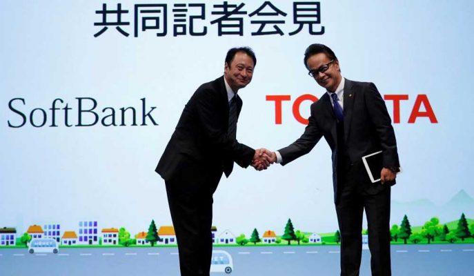 Japon Devlerden İş Birliği: Toyota ile Softbank Ortak Girişimlerini Duyurdu!