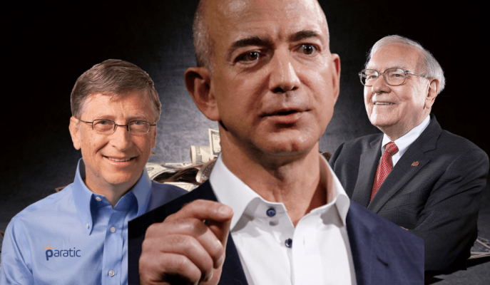 Jeff Bezos Amerika'nın En Zenginler Listesinde İlk Sırada