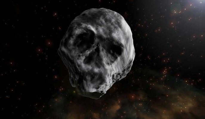 Kuru Kafa Görünümlü 'Ölüm Yıldızı' Dünya'ya Yaklaşıyor!