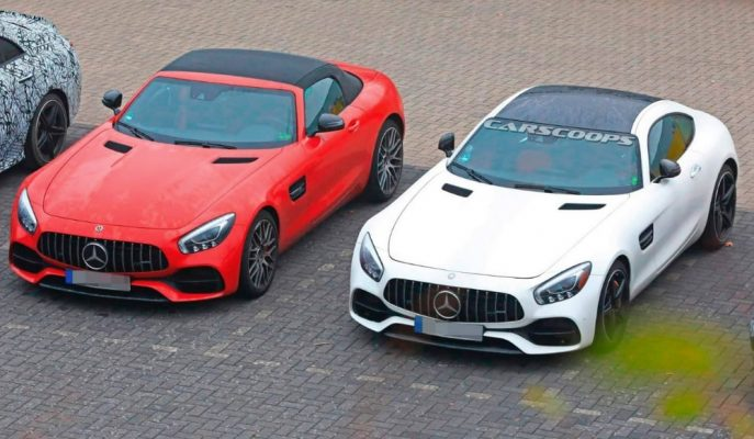 Mercedes AMG GT'nin 3.0L V6 Hibrit Versiyonunu Hazırlıyor!