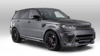 """Overfinch'in Range Rover Sport'una """"Üstünlük Madalyası Takılmış"""""""
