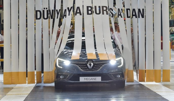 Renault Bursa'da Yapacağı 100 Milyon Euro'luk Sistem ile Bir İlke İmza Atacak