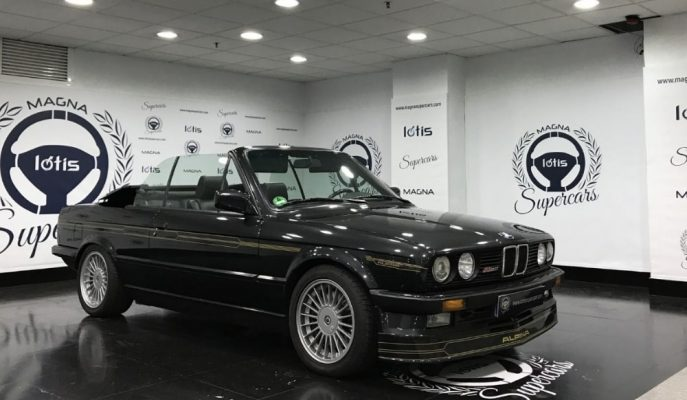 Eşine Az Rastlanacak BMW E30-Alpina B3 Cabrio Satışta!