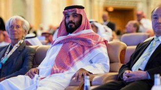 Suudi Arabistan Boykot Edilen Çöldeki Davos'u Kurtarmaya Çalışıyor!