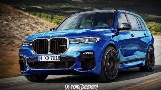 X-Tomi'den BMW X7 M Yorumu Dışında X8'in de Hayali Kurulmuş