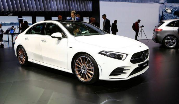 2019 Yeni Mercedes A Serisi Sedan Şık Tasarımıyla Paris'te Yerini Aldı!
