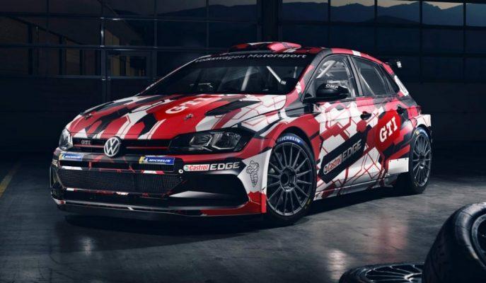VW Polo GTI R5 Rally Aracı 4 Saniye Kalkışla Toprak Zemine Bırakılıyor!