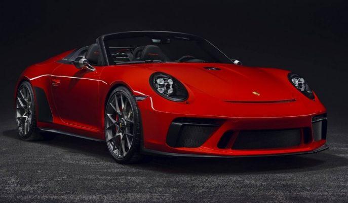 """Paris'in En Güzel Üstü Açık Almanı: """"Porsche 911 Speedster"""""""