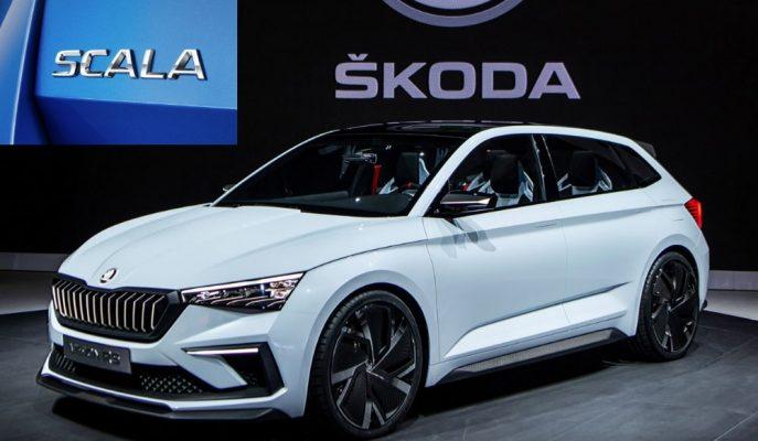 """Skoda'nın VW Golf ile Yarıştıracağı Rapid """"Scala"""" İsmini Alıyor!"""