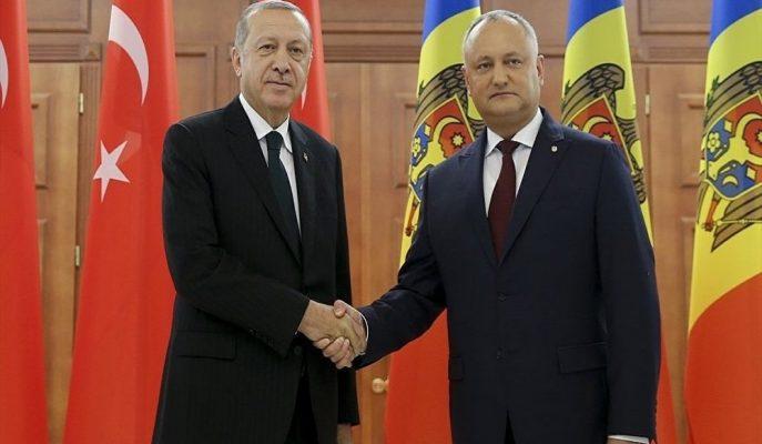 Cumhurbaşkanı Erdoğan: Ziraat Bankası ve Halkbank Moldova'da Şube Açabilirler