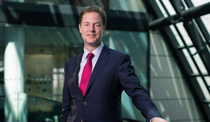 Zuckerberg Küresel İlişkiler için Eski İngiltere Başbakan Yardımcısını İşe Aldı!