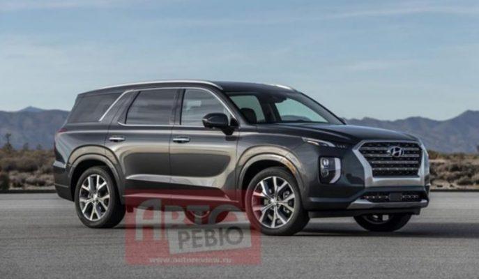 Hyundai'nin En Büyük Yapı Taşı Palisade SUV'un İlk Resmi Görseli!