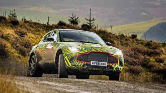 Aston Martin DBX (Varekai) SUV'un İlk Prototip Görüntüleri!