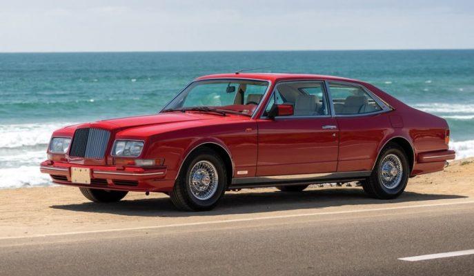 Hooper'ın Dünyada İki Örneği Olan Bentley Empress II Coupe'sinden Biri Satılıyor!