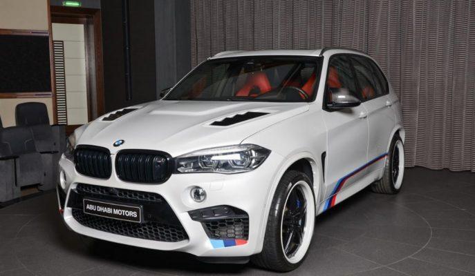 BMW Abu Dhabi'nin Özelleştirdiği X5 M'e Bakın!