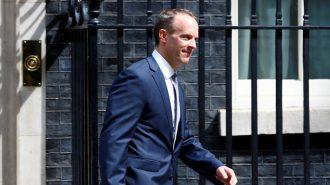 Brexit Bakanı Dominic Raab'ın İstifası Sterlini Düşürdü!