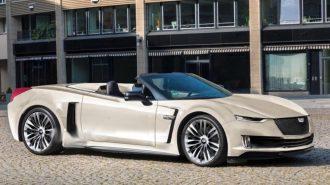 Cadillac Orta Motorlu Yüksek Güç Üreten Bir Spor Araba Çıkartabilir!