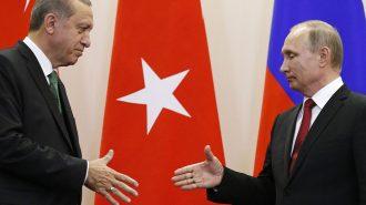 Cumhurbaşkanı Erdoğan ve Putin TürkAkım Töreni için Bir Araya Geldi