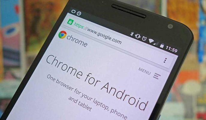 Google Chrome'un Android Uygulamasına Sayfa Kaydırma Özelliği Geliyor