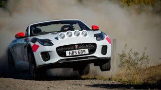 Jaguar F-Type ile WRC Heyecanını Yeniden Başlatıyor!