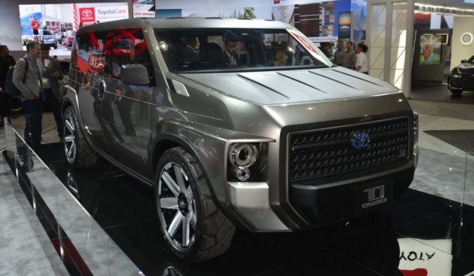 "Toyota ""TJ Cruiser"" Kavramını LA Auto Show'la Amerikan Halkına da Gösterdi!"