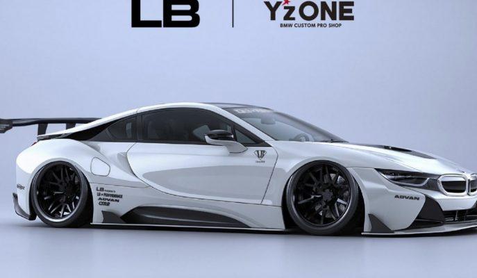 Liberty Walk'un Uçuk Çalışmalarına Eklediği Yeni BMW i8!