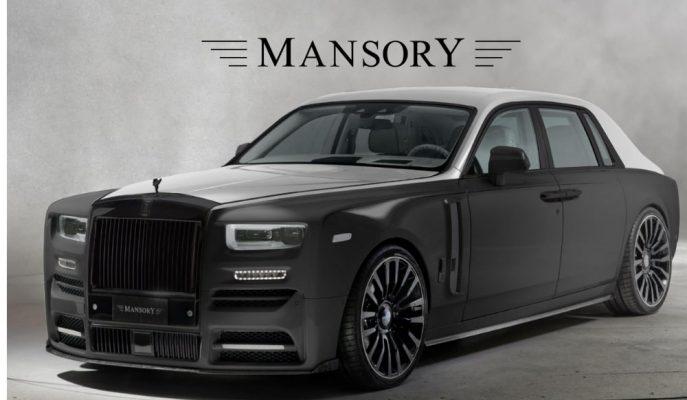 Mansory Rolls Royce Phantom Modifiyesi ile Çıta Yükseliyor!