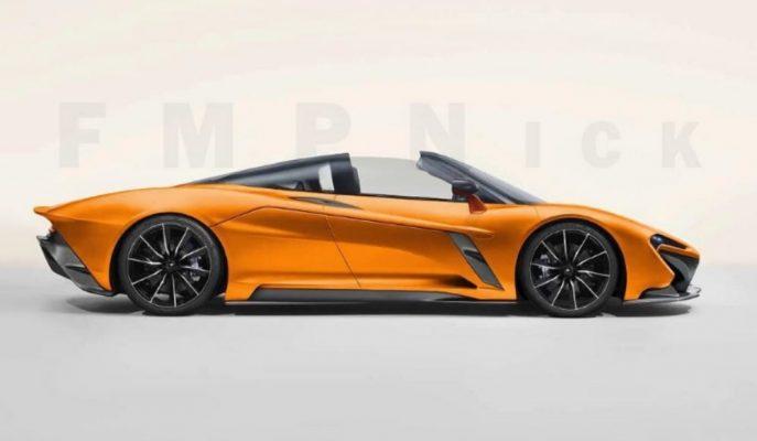 McLaren'in Speedtail'e Gelen Spider Yorumu!