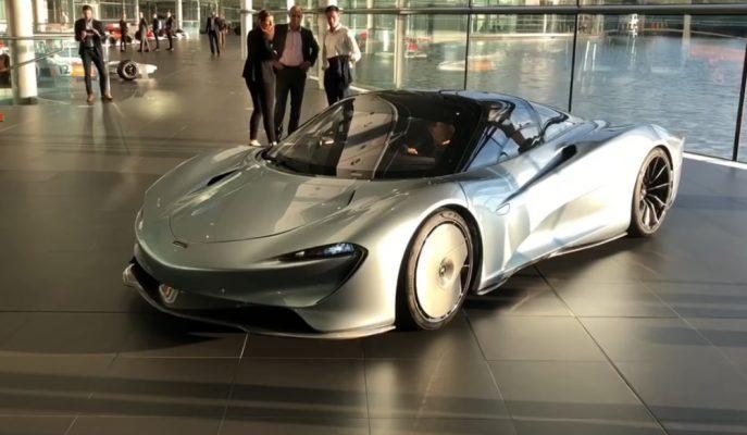 Dünyadaki İlk McLaren Speedtail Showroomdan Ayrıldı!