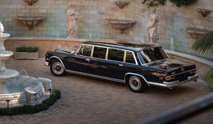 1960'ların En Zengin Kişilerini Taşıyan Mercedes Pullman'lardan Biri Açık Artırmada!