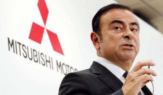 Mitsubishi Oy Birliği ile Carlos Ghosn'u CEO'luktan Çıkardı!
