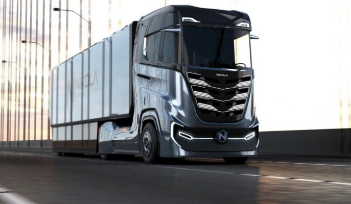 """Nikola Motors Avrupa için Özel Tasarlanan """"Tre Truck""""u Tanıttı!"""