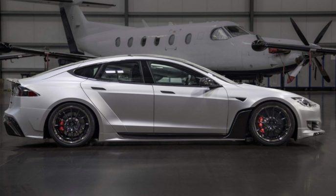 Unplugged Performance'nin Aşırı Maliyetli Tesla Model S Modifiyesi!