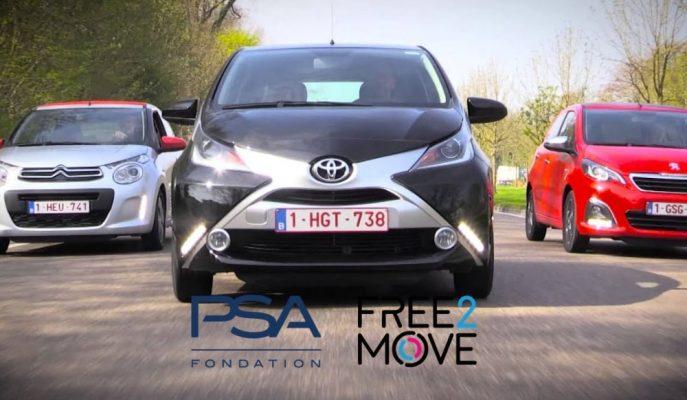 PSA, Free2Move'yi Paris'te Başlatırken Toyota ile Yeni Anlaşmalar Yaptı!
