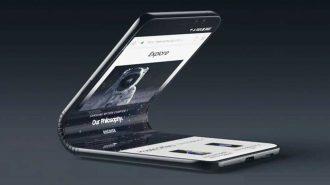 Samsung'un Katlanabilir Telefonu Galaxy F için Hazırlanan Etkileyici Konsept Video