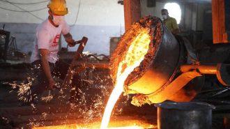 Sanayi Üretimi Eylül Ayında Geçen Yıla Göre Yüzde 2,7 Azaldı