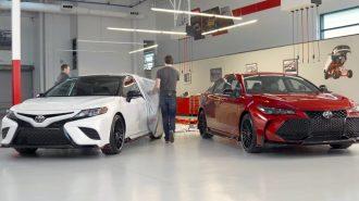 Toyota LA Auto Show'a Camry – Avalon TRD Sürümleriyle Geliyor!