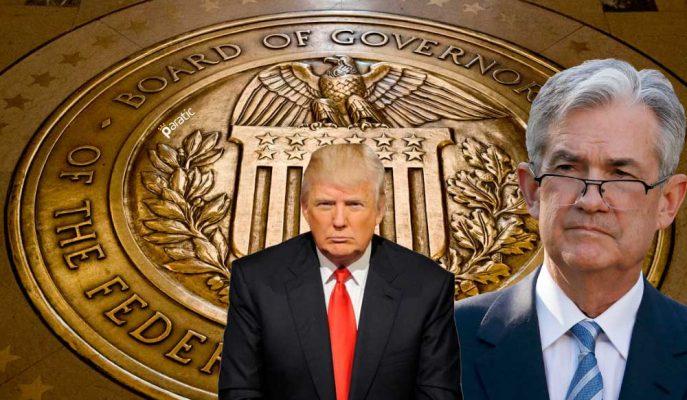Trump FED Başkanı Jerome Powell'ı Görevden Alamaz!