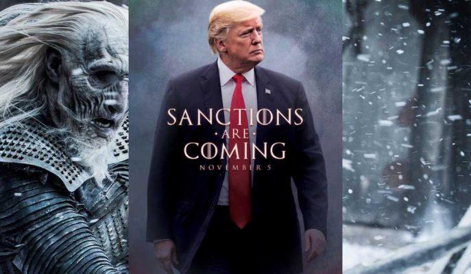 """Trump'ın Game of Thrones Göndermeli """"Yaptırımlar Geliyor"""" Paylaşımına HBO'dan Cevap"""