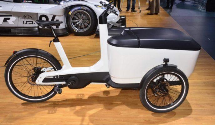 """VW Marka Tarihinin En Küçük Ticari Aracı """"Cargo e-Bike""""yi Tanıttı!"""