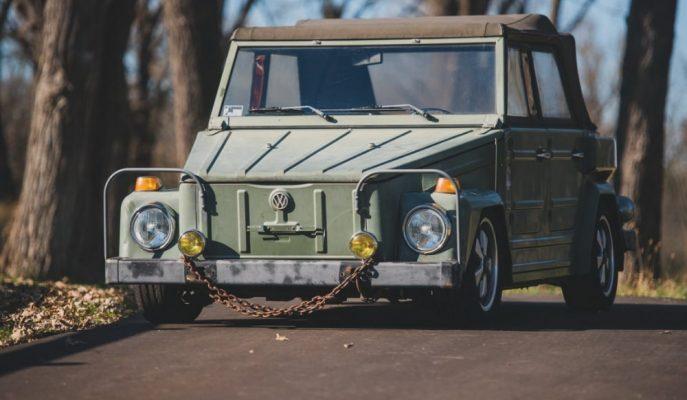 VW'nin 1968 – 1983 Arasında Ürettiği Thing'in Askeri Versiyonu ile Tanışın!