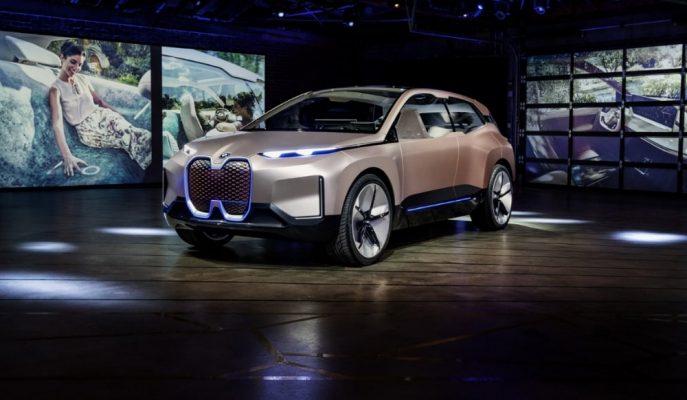 BMW'nin Otonom ve Elektrikli Seçenekleriyle Düşündüğü iNext SUV Concept!
