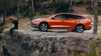 Ford Avrupa Pazarı için Focus Wagon Active'i Gösterdi!