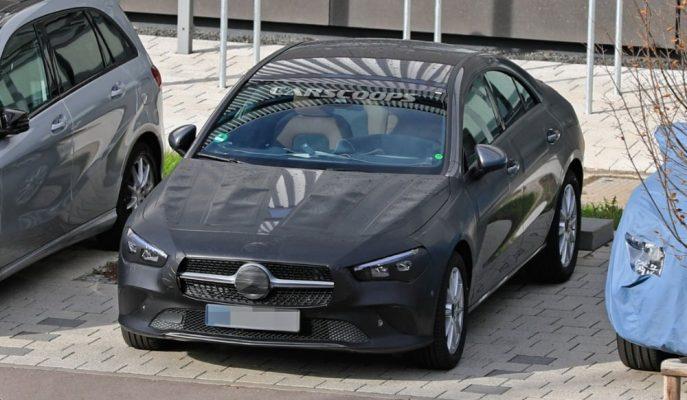 Yeni Mercedes CLA'yı En Az Kamuflajla Görüyoruz!